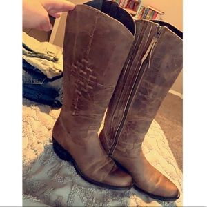 Reba by Justin fall style boots 9B